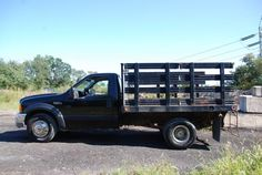 1999 Ford F-350 SD Stakebody Truck 50K Actual Miles