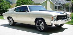 '71 Chevelle SS. Chevelle. Find parts for this classic beauty at restorationpartss...