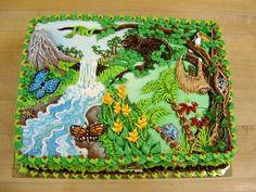 Rainforest cake by The-EvIl-Plankton.deviantart.com on @deviantART