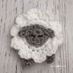 Repeat Crafter Me: Crocheting LAMB