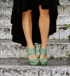 I am obsessed with the color mint this season!!! LOVE THESE