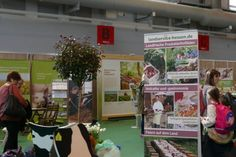 Unterwegs auf der Messe Land & Genuss in Frankfurt - am Stand des Landservice Hessen   bestager-messen.de: Schöne Lifestyle-Messen finden