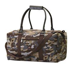 Camo Duffle Bag   #exclusivelyweddings