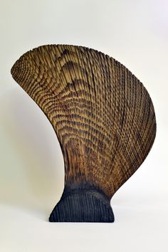Contemorary wood sculpture Contemporary Sculpture, Wood Sculpture, Wicker, Vase, Chair, Home Decor, Decoration Home, Room Decor, Stool