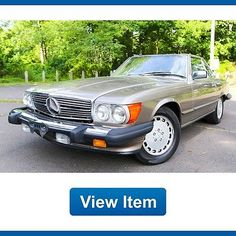 awesome 1987 Mercedes-Benz SL-Class - For Sale View more at http://shipperscentral.com/wp/product/1987-mercedes-benz-sl-class-for-sale-2/