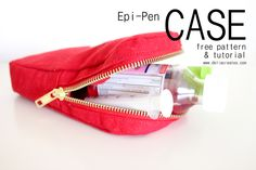 Epi-Pen Case Free Pattern + Tutorial
