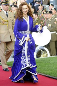 Princess Lalla Salma of Morocco :: October 20, 2012 in Luxembourg