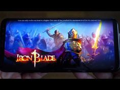 Samsung Galaxy S8+ gameplay: Iron Blade - Medieval Legends - Best Android Game - Andrasi.ro