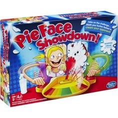 Pie Face Showdown Game - Ryleigh and Izzy need this cause they're always fighting over the single player one