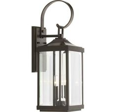 Buy the Progress Lighting Antique Bronze Direct. Shop for the Progress Lighting Antique Bronze Gibbes Street 3 Light Wide Outdoor Wall Sconce with Clear Beveled Glass Panels and save. Outdoor Wall Lantern, Outdoor Wall Sconce, Outdoor Wall Lighting, Exterior Lighting, Outdoor Walls, Lighting Ideas, Garage Lighting, Outdoor Wall Decorations, Lighting Design