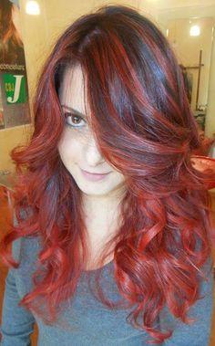 Spotted...in salone!!! Il Degradé Joelle ha anche colori intensi  #cdj #degradejoelle #dettaglidistile #welovecdj #clientefelice #beautifulhair #naturalshades #hair #hairstyle #hairstyles #haircolour #haircut #fashion #longhair #style #hairfashion