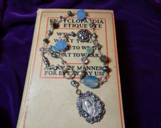 Assemblage Necklace Vintage Restyled by OLovelyHooligan on Etsy