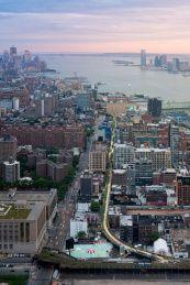 High Line desde el aire