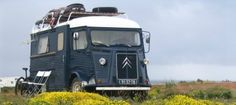 Camper Van Conversions Around the World OK, maybe not a expedition level conversion but how cool is this old Citroen van camper?