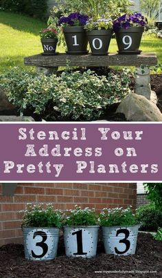 17 Impressive Curb Appeal Ideas (cheap and easy!) So cute! Definitely going to try some of these out #modernyardfront