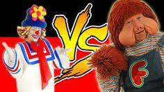 Batalha de Rap Patati VS Fofão balão mágico