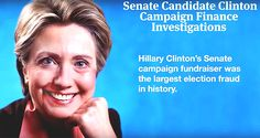 """Corrupt Hillary Clinton – Some Of Her Criminal """"Accomplishments.""""  A History Of Corruption – Crooked Hillary Clinton, Career Political Criminal - 6/12/16"""
