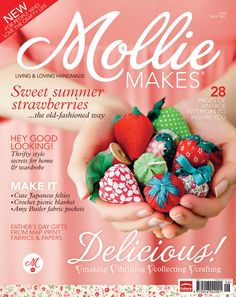 Mollie Makes issue 2 templates - Mollie Makes - Charlotte Lyons pattern on page 8 of this download