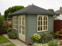 Take inspiration from our customer gallery of quality Summerhouses & Gazebos, located all over the UK in beautiful garden settings.