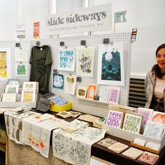 Hand and Seek: Art Show / Craft Fair Tips and Advice with Booth Display Photos for Inspiration