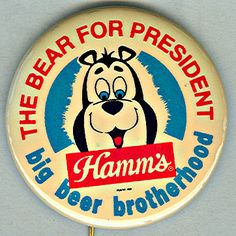 Hamm's Bear is in my top #5 favorite advertising mascots