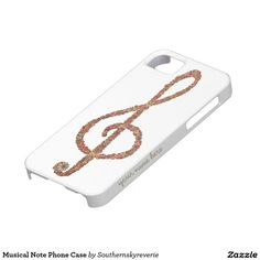 Musical Note Phone Case