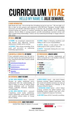 My Creative CV or Resume I wanted a new way to show my creative skills that wasn't getting portrayed in my standard resume.
