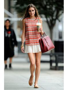 Olivia Palermo out and about NY. July 20, 2012