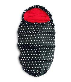 ELODIE DETAILS конверт теплый в коляску Rockabilly Dot. Размер конверта: 53 х 110 см.