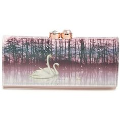 Ted Baker London Swanell Leather Matinee Wallet