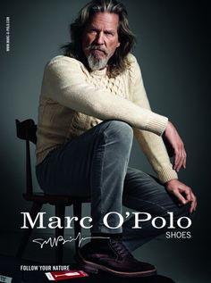 Jeff Bridges for Marc O'Polo