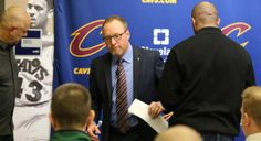 The Cleveland Cavaliers GM David Griffin leaves Fridayâs...