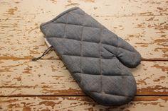 Oven mitt , Kitchen oven glove , Denim oven mitt , Pot holder , Food oven mitt , Denim recycled , Cookware hot pad , Oven glove for baker by SecondBirthday on Etsy