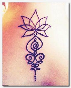 Bildergebnis für unalome tattoo bedeutung - Tattoos - Tattoo Designs for Women Back Tattoos, Mini Tattoos, Flower Tattoos, Body Art Tattoos, Small Tattoos, Tatoos, Buddha Tattoos, Henna Tattoos, Unalome Tattoo