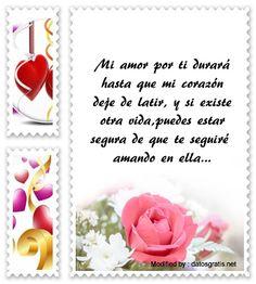 mensajes hermosos de amor para mi novia,mensajes bonitos de amor para mi enamorada: http://www.datosgratis.net/hermosas-frases-de-amor-para-mi-novia/