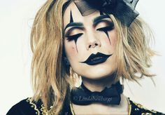 Linda Hallberg - Halloween makeup