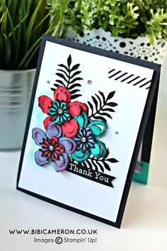 botanical gardens stampin up