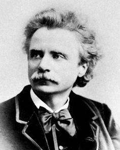 Edward Grieg, the great Norwegian pianist and composer