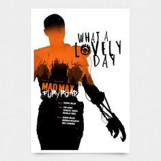 Mad Max Fury Road Poster 12 X 18 por Pixology en Etsy