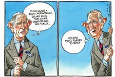 22 May 2014 - The Prince Charles debacle (comparing Russia to Nazi Germany) rumbles on as polling for the European elections begin.