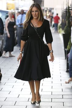 Celebrity Street Styles! The Style princess of NYC, Sarah Jessica Parker
