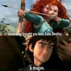 Tangled/httyd/brave crossover this is awesome