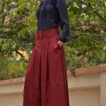 sport hijab models with pants