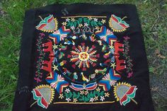 my design, typical scanian woolen embroidery.