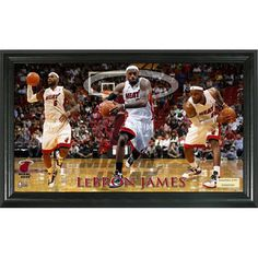 LeBron James Pano 12x20 Frame
