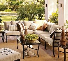 Build Your Own - Riviera Sectional Components #potterybarn