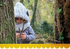 Ideas que mejoran tu vida Crochet Hood, Love Crochet, Crochet Gifts, Crochet Baby, Knit Crochet, Crochet Hat Tutorial, Crochet Instructions, Loom Knitting, Baby Knitting