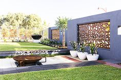 Make a statement with timber screens http://www.qaq.com.au/index.php/gallery.html #decorativescreens