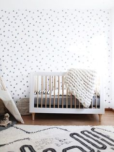 Modern Geometric Nursery - Lynzy & Co.