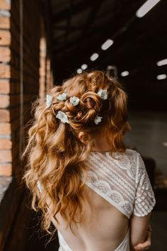 The Urban Boho Bride! A Stunning Copper Leaf, Blush & Greenery Wedding Shoot